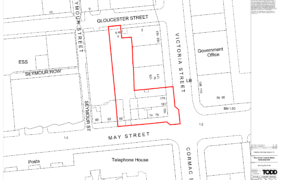 May Street/Victoria Street - Site Location Plan - Clyde Shanks